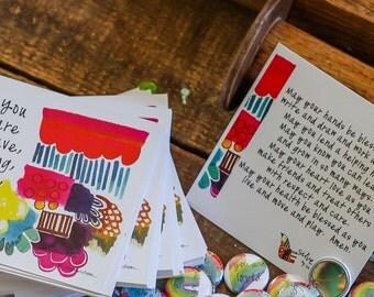 prayer + blessing cards
