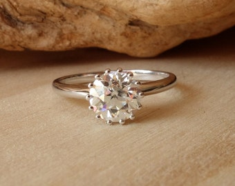 The Callie Solitaire Ring