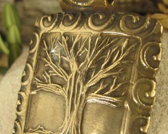 The Spirit Tree in Bronze Pendant, Tree of Life, Irish Celtic Jewelry, Necklace