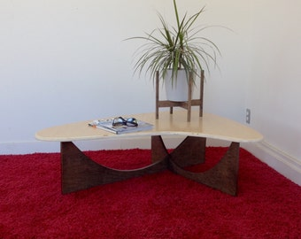 Booma Brasilia Birch - Mid Century Coffee Table