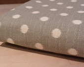 Pet FURNITURE PROTECTOR Throw in Ikat Dots Nova Gray Birch for Couch, Loveseat, Chair, Bed 50x100, 50x80 or 50x60