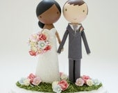 custom wedding cake topper - order for - NATALYEPASS