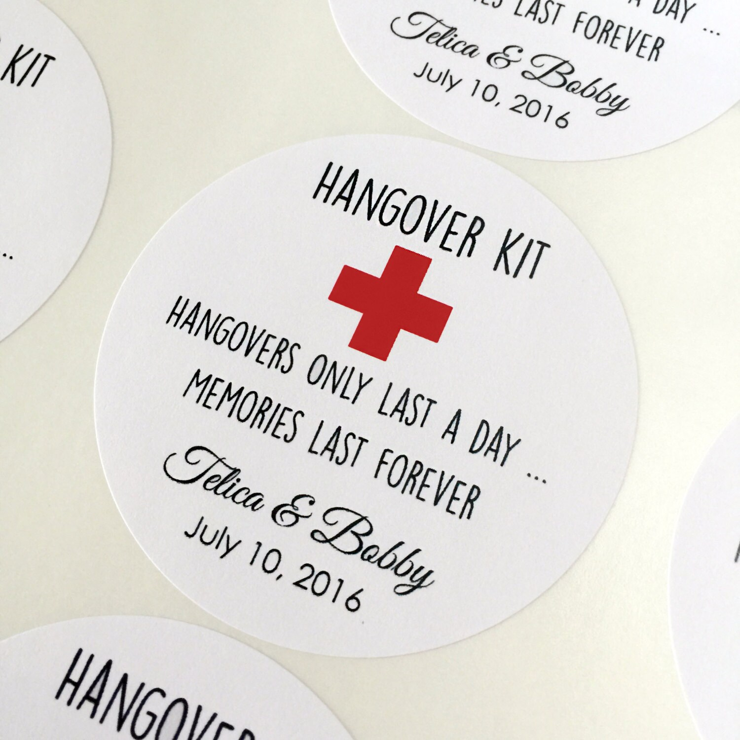 wedding favors gift tags