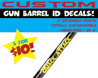Shotgun Barrel Etsy - Custom shotgun barrel stickers