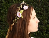 Flower crown, wedding hair accessories, floral headpiece, flower headband, Wedding wreath, wedding flower crown, Bridal headpiece