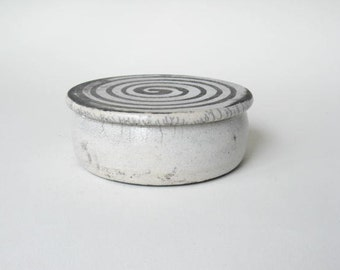 Trinket Dish Raku Fired