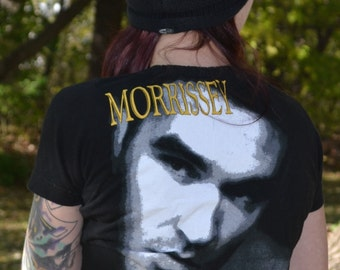 Upcycled Morrissey/The Smiths Shrug