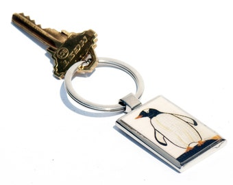KEY CHAIN - Penguin Photo Key chain