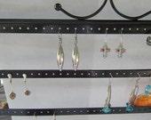 Vintage Mexico Sterling Silver Dagger Shape Dangle Earrings