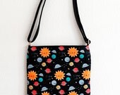 Things in Space Cross Body Bag - Adjustable straps