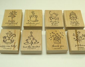 Greetings Galore Stamp Set From Stampin Up 104477