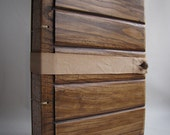 Photo album Large format Wooden covers Reclaimed wood