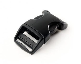 """ITW Nexus Contoured SR Plastic Side Release Buckle 1"""" or 5/8"""" wide -- quantity 1 - 10"""