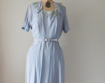 Spring is in the air dress | vintage 50s dress | 50s day dress