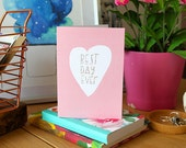 sale: BEST DAY EVER card cc176