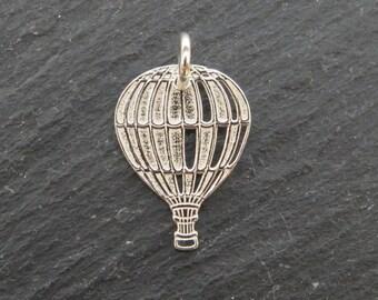 Sterling Silver Balloon Pendant 17mm (CG8057)