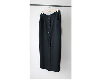1990's Banana Republic Button Down Pencil Skirt