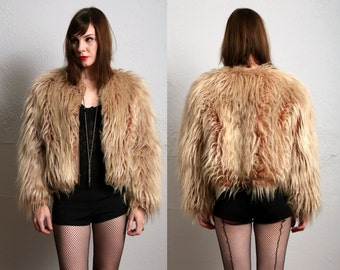 SALE- Faux Fur Coat