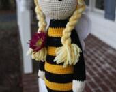 Crochet Queen Bee Doll Lalylala Inspired