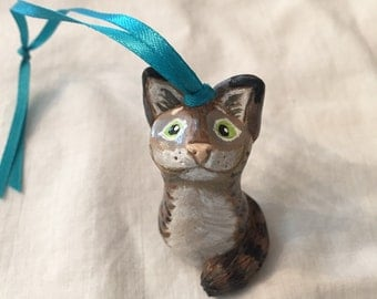 Maine Coon Cat Ornament or Figurine