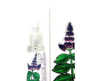 Mint Floral Toner + Body Mist . natural skin care