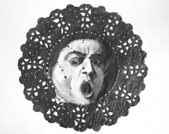 MEDUSA original ink painting