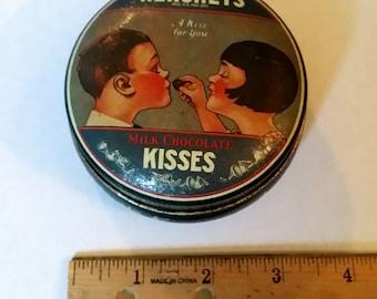 Hershey vintage chocolate tin