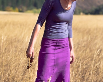 SALE - Organic Hemp Spire Skirt