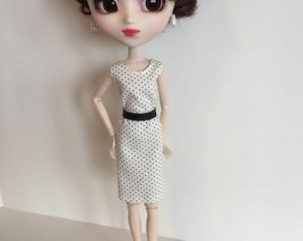 Handmade fits dolls like Pullip Momoko Skipper Dal Bratz Doll Clothes Designs by P D Reneau (S1604)