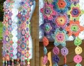 Lula Crochet Scarf PDF Pattern
