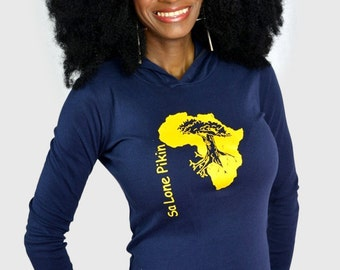 African clothing, African clothing for women, African clothing women, African hoodie, African sweater, African shirt, Map of Africa shirt