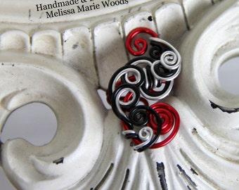 Loop-Tastic Ear Cuff- Rad Red