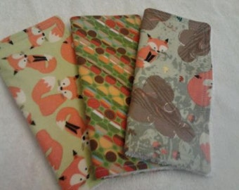 Baby Wash Cloths  Toddler Wash Cloths  Set of 3