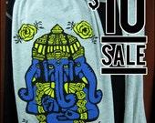 10 DOLLAR SALE-- Ganesh Heather Gray Jersey Cotton Scarf