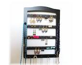 Earring Holder, JEWELRY HOLDER, Jewelry Storage,Jewelry Display, EARRING tree,  11 pegs, Earring Storage, Necklace Holder, Necklace Display