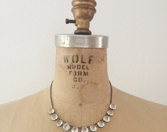 Art Deco necklace / wedding necklace / Starbright necklace