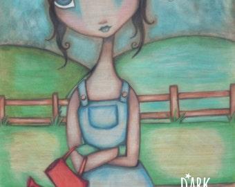 Grow - 8x10 Original Illustration