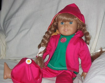 Hot and Cool - jacket, slax, tee and pants for American Girl