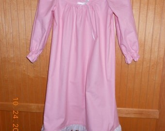 Size 4 nightgown flannel