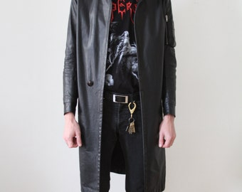 Rick Owens Leather Coat