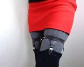 Sock Garters, Adjustable Latex, Leg Garter, Thigh Garters, Sock Suspender, Stocking Garter