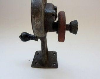 Antique Dazey Sharpit -  Dazey Churn & MFG Co - 1925 Hand Crank Knife Sharpener