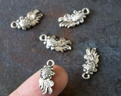 15 small Silver Koi Fish, Coy Fish, Goldfish, Pendant, Metal Alloy small, nice detail, light weight 18x9 mm
