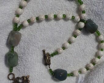 Earthy Anglican Prayer Beads