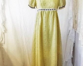 Small Grateful Dead Spinner Dress/Maxi Dress/Haight Ashbury Hippie Dress/Boho Sun Dress/Farmhouse Chic/Vintage dress/Music festival  Dress/