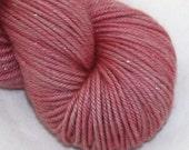 Dusty Rose--Twinkle Cat DK- SW merino/silk double knitting
