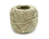 Hemp Yarn, 6 Ply 1mm, Natural Yarn, Yarn, Crochet Yarn, Tatting, Knitting Yarn -Y1
