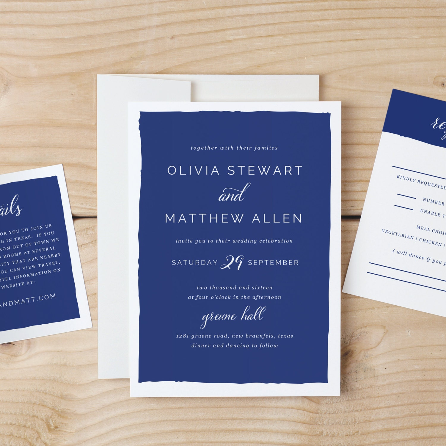 Instant DOWNLOAD Printable Wedding Invitation Template