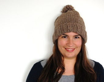 Aventura - A Super Chunky Hat With Pompom