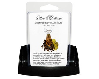 OLIVE BLOSSOM // Wax Tarts // Soy Tarts // Candle Tarts // Melting Tarts // Scented Tarts